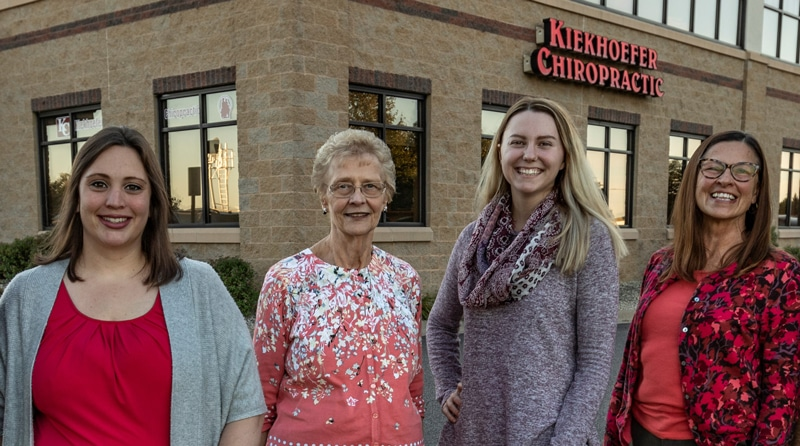 Staff at Kiekhoefer Chiropractic in Cottage Grove, MN